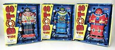 "Tin Robot Wind-Up SET of 3 - SCHYLLING IMA Robot, Z-Bot, X-306 - 4.25"" tall  NEW"
