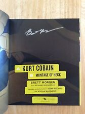 SIGNED - Kurt Cobain : Montage of Heck by Brett Morgen Director HC + Pic HBO