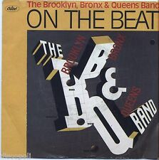 """THE BROOKLYN BRONX & QUEENS BAND On the beat VINYL 7"""" 45 LP ITALY 1981 NM/ VG"""
