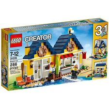 31035 BEACH HUT lego creator NEW sealed 3 in 1 legos set SURF SHOP city town