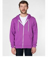 American Apparel Flex Fleece Zip Hoodie  xs