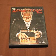 WWE - Armageddon 2008 (DVD, 2009)