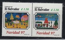 El Salvador 1997 ChristmasSc 1474a  Mint Never Hinged