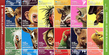 Hungary 2016 MNH Animal Cubs II Budapest Zoo 12v M/S Birds Bats Animals Stamps