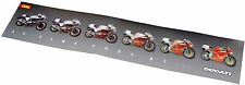 Poster Ducati Mike Hailwood und 916 - ORIGINAL TOP-ZUSTAND! Motorrad Italien