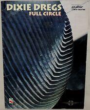 Dixie Dregs - Full Circle - Song Book Guitar Tablature - SC 1995