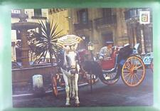CPA Spain Malaga Kutsche Horse Pferd Cheval Cavallo Paard Koń Carriage z888