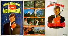 MOONRAKER 1979 Roger Moore, Lois Chiles JAMES BOND US 1-STOP POSTER