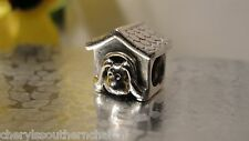 Authentic Pandora Charm Dog House Red Heart 790592EN27