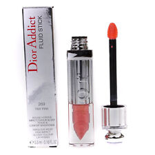 Dior Addict Fluid Stick Pretty Pink Lip Gloss Lipstick 269 Tiny Pink DAMAGED BOX