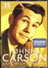 JOHNNY CARSON: Late Night Legend (DVD, 2011, 4-Disc Set, Color and B&W) - NEW