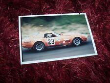 Photo CHEVROLET Corvette  Pickett / Kemp  1972 IMSA Championship //