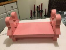 DWELL STUDIO Pink Wooden Paper Dolls Book Shelf Discontinued, RARE, LOOK!