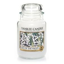 ☆☆LILY OF THE VALLEY☆☆LARGE YANKEE CANDLE JAR ☆☆TOP RATED FLORAL SCENTED CANDLE