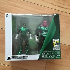 SDCC 2012 Comic Con Exclusive DC Kyle Rayner & Kilowog Action Figure 2-pack NEW