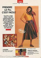 Patron Jupe 38 - 40 - 42 + Combinaison Poupée Cécile Modes et travaux Mai 1990
