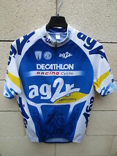 Maillot cycliste AG2R DECATHLON RACING CYCLE Tour France 2005 cycling shirt L