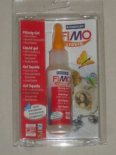 fimo, gel liquide transparent durcit au four contenance:50ml