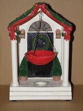 YANKEE CANDLE FRONT DOOR HANGING TART BURNER WITH LIGHT UP PORCH LIGHTS NWTS!!