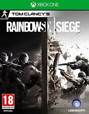 TOM CLANCY'S RAINBOW SIX SIEGE EN CASTELLANO NUEVO PRECINTADO XBOX ONE