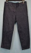 Talbots Signature Curvy Crop Jeans Dark Wash size 4P/27