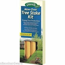 Gardener Mow-Over Wood Young Tree Holder Support Stake Kit 3/Pk TSD-12