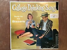 College Drinking Songs by the BLAZERS LP Album Record ABC Paramount 201