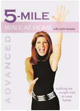 Leslie Sansone Walk At Home 5-Mile Walk DVD with BAND
