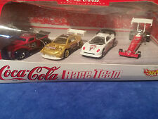Hot Wheels Coca Cola Race Team Special Edition 4 Pack - Coke