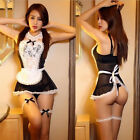 Sexy Womens Sexy Lingerie Dress Sleepwear Babydoll French Maid Princess Outfit