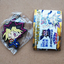 Official Yu-Gi-Oh! rubber mascot keychain - Yugi Muto 20th Anniversary *NEW*