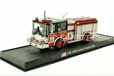 Giant Fire Truck Luverne Pumper - 1998 Company 59 USA Diecast Model 1:64 No 17
