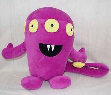 DEFENDER DAVE Plush Scare Me Not Purple Monster Alien Stuffed Animal Toy