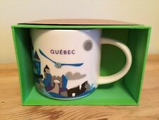 STARBUCKS QUEBEC VERSION 2 YOU ARE HERE 14 oz MUG - NIB / NWT