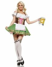 Ladies Octoberfest/Oktoberfest German Beer Festival Maid Costume Size 12-14