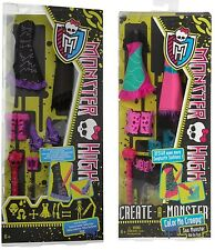 Set Monster High Color me Creepy Seemonster Werwolf,Seemonster,add-on,Create a