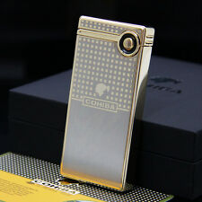 COHIBA Gold Laser Touch Induction Electronic Jet Flame Cigar Lighter USB Charger