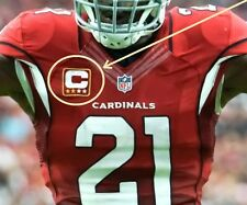 ARIZONA CARDINALS CAPTAINS JERSEY TWO-STAR 2-STAR RED IRON-ON PATCH