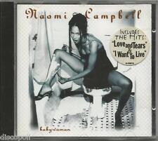 NAOMI CAMPBELL - Babywoman - CD 1994 NEW NOT SEALED