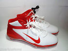 MENS NIKE ALPHA TALON ELITE D FOOTBALL CLEATS SHOES WHITE ORANGESIZE 15 NEW