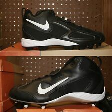 Mens Nike Blade II Shark Open Field 3/4 Cleats Black White Sz 14 or 15
