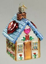 *Sweetheart Cottage - 2 Colors* House [20066] Old World Christmas Ornament - NEW