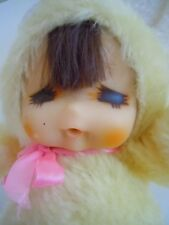 "RARE 1978 RUSS ""BUNNY LUV ""YELLOW BUNNY MONCHICHI SEKIGUCHI FACE TYPE KOREA MADE"