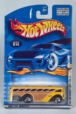 Hot Wheels Surfin School Bus Yellow Wood Grain 2001 First Editions