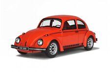 Otto mobile 637 vw beetle jeans 2 résine voiture modèle phoenix red 1974 ltd ed 1:18th