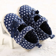 Toddler Baby Infant Kids Girls Soft Sole Crib Shoes Party Dressing Shoes 11 N