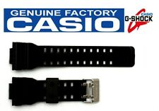 CASIO G-Shock G-8900A-1 16mm Glossy Black Rubber Watch BAND Strap GA-110B-1A