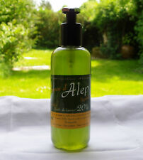 Authentique Savon d'Alep Liquide Gel Douche 100%Naturel 300 ml Made in France