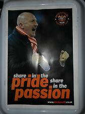 BLACKPOOL FOOTBALL CLUB SHARE IN THE PRIDE SHARE THE PASSION PROGRAMME HOLLOWAY
