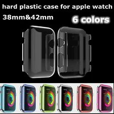 Crystal ultra thin protective transparent back cover for Apple watch 38 & 42mm